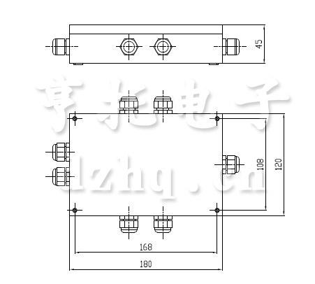 HT-KM06重量变送器外形尺寸